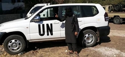 Terror Alert As Stolen UN Number Plates Could Be Used To Commit Attack