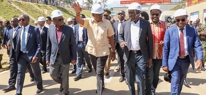 Uhuru inspects progress of SGRs second phase to be completed by June 2019