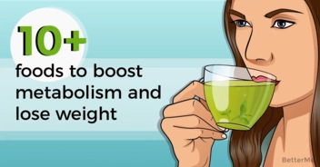 10 foods can help boost metabolism and lose weight