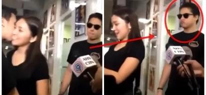 Jealous Daniel Padilla reacts savagely when fan kissed Kathryn Bernardo on cheek