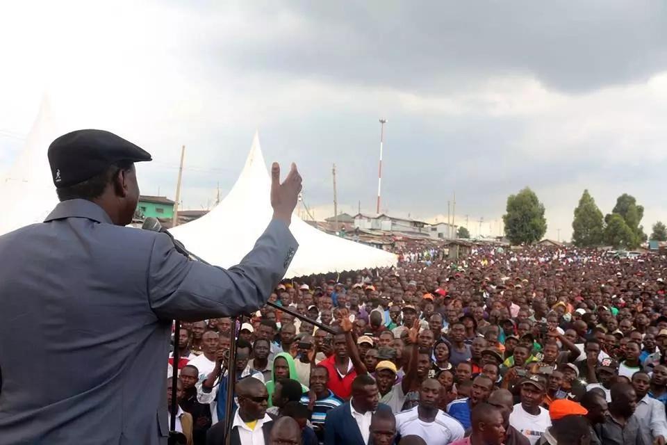 Raila Odinga cancels tour in Uhuru's stronghold at the last minute