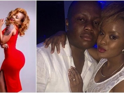 Avril's ex fiancé caught in an AWKWARD situation after openly thirsting on Vera Sidika's massive bum (SCREENSHOT)