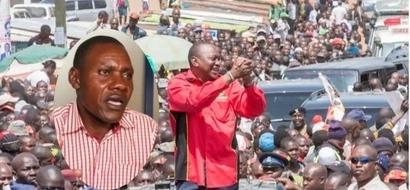 Jamaa wa Kisumu aliyeuza shamba ili kumsaidia Rais Uhuru atoa ombi la kipekee