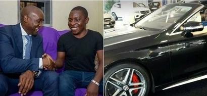 Maisha yamembadilikia pakubwa mshindi wa zawadi KUBWA ya Sportpesa Samuel Abisai