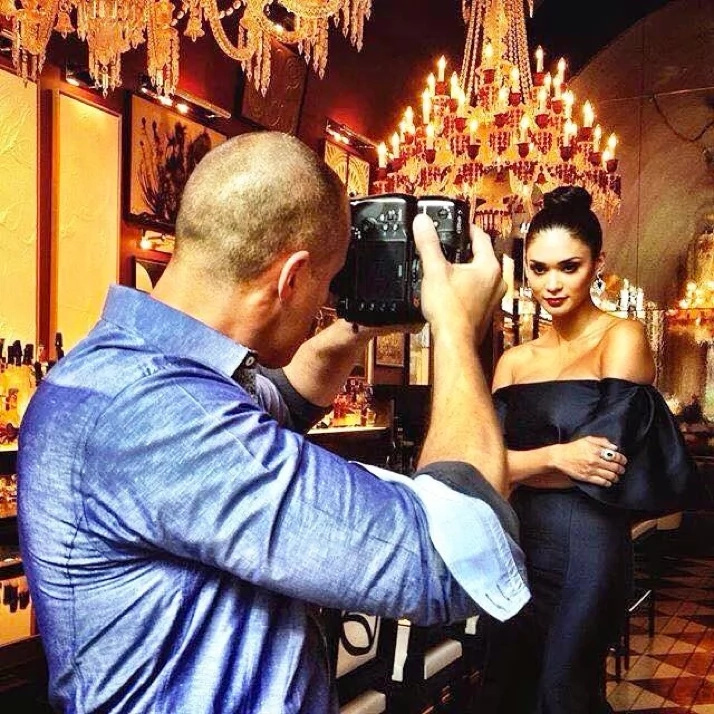 Queen Pia Teams Up With Nigel Barker And Monique Lhuillier