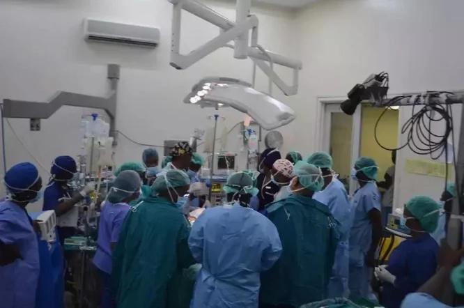 Hospitali ya Kenyatta yaandaa sherehe murwa kwa madaktari waliofanikisha upasuaji wa pacha hawa
