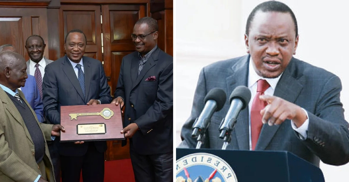 President Uhuru Kenyatta rewards owner of the oldest brothel in Kenya