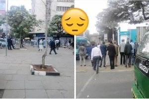 Gather in Nairobi city centre at your own risk, police sound warning
