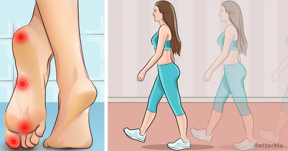 Walking can help you reduce foot pain