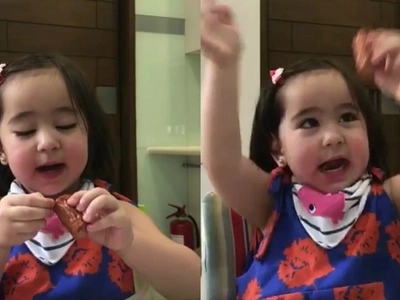 Very talented baby! Scarlet Snow shows how she counts in Filipino and Chinese