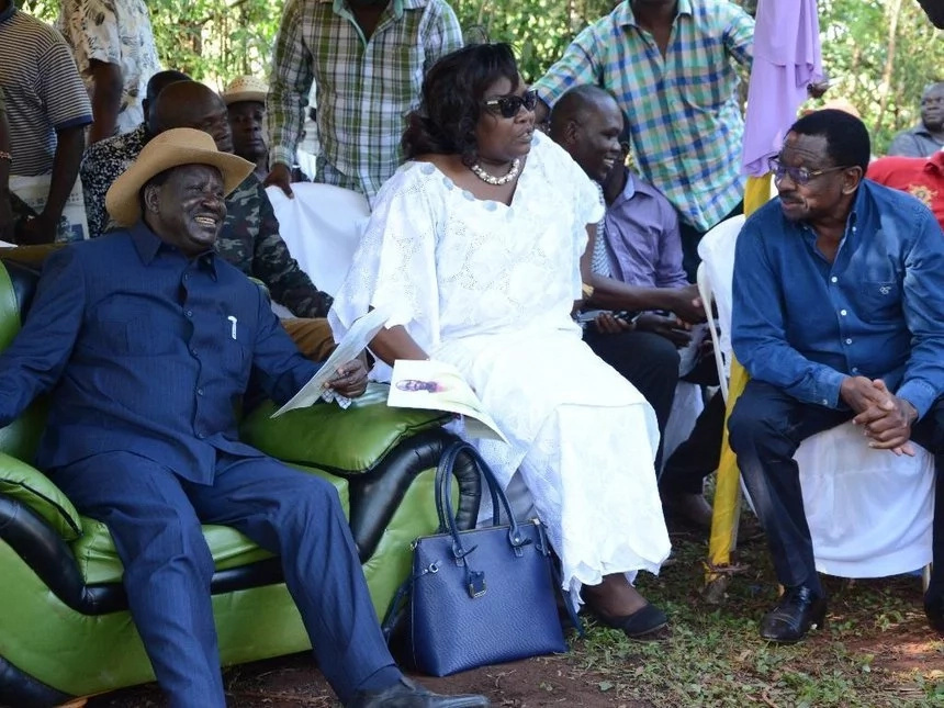 Blame no one for the country's woes - Orengo to Uhuru.