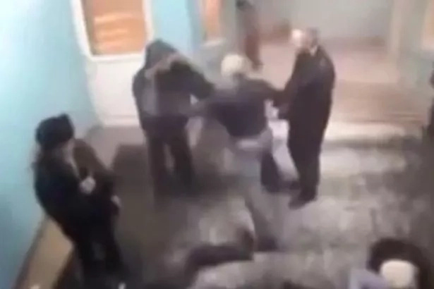 Pensioner Comes to Aid of Beaten Man But See His Moves!