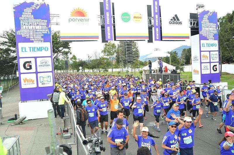 La Media Maratón de Bogotá se encamina a cifra récord
