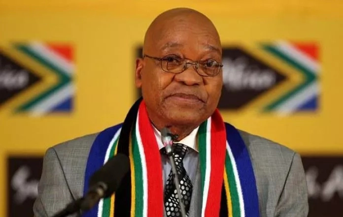 Jacob Zuma resigns under the pressure of his party