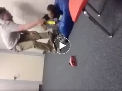 Abusado si Sir! Violent teacher tosses 5-year old student like a doll as PUNISHMENT