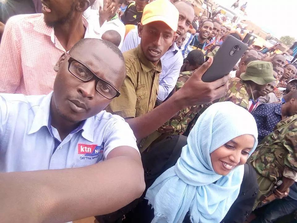 Man slapped like a mburukenge after trying to interrupt KTN reporter on live TV (video)