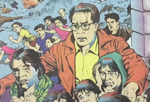 Binay And Romualdez Bash Mar Comics