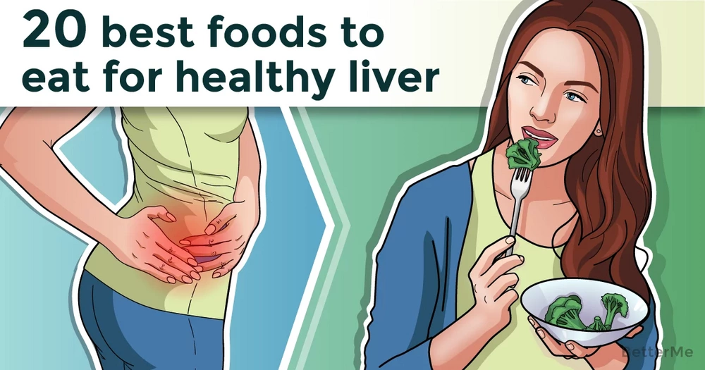 20 best foods to eat for a healthy liver