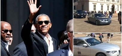 Irony? Obama criticized for traveling in private jet and 14-car convoy to CLIMATE CHANGE conference (photos)