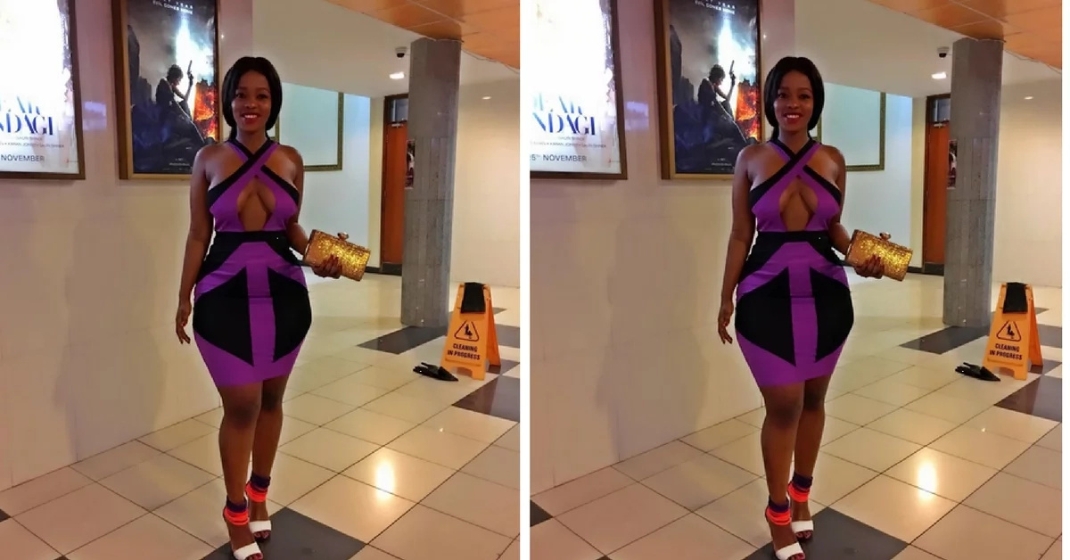 Kenyan socialite steps out without a bra and we can't deal