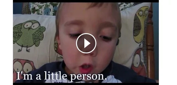 Boy with dwarfism teaches us about lessons about life
