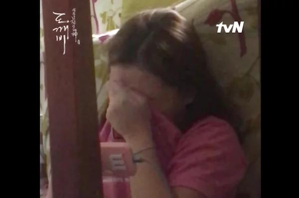 Filipina gets filmed discreetly as she watches Korean drama