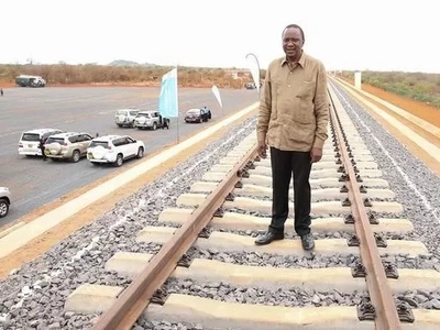 Leaked photos of the state-of-the-art passenger train that will cruise on the Standard Gauge Railway