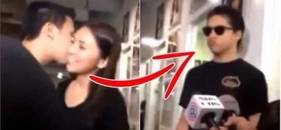 UNBELIEVABLE: This is how Daniel Padilla reacted when an avid fan kisses Kathryn Bernardo