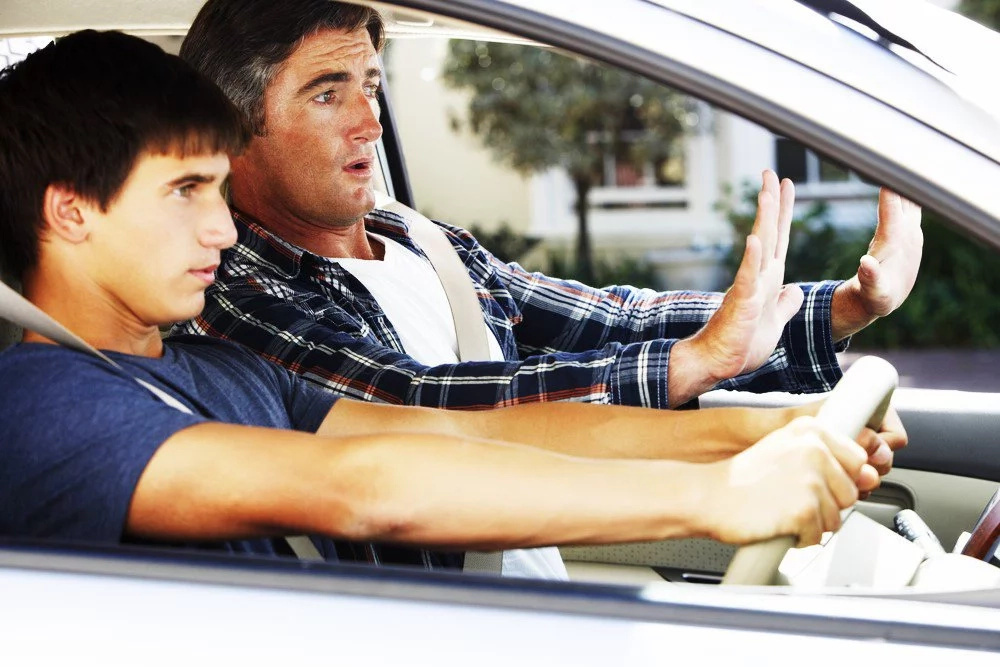 If your dad owned a car, then you will remember doing this