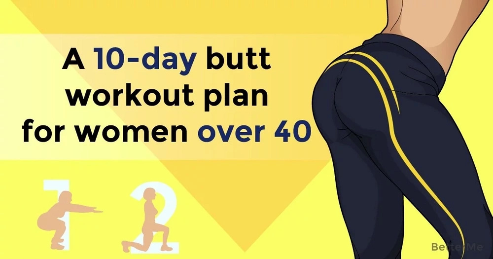 A 10-day butt workout plan for women over 40