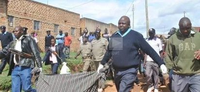 Panic in Kakamega as body of a nine-year-girl is found dumped in a water tank