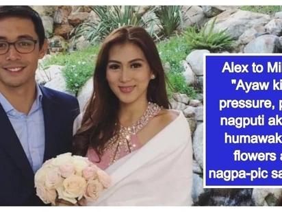 Ready na magpakasal? Alex Gonzaga teases boyfriend Mikee Morada about getting married