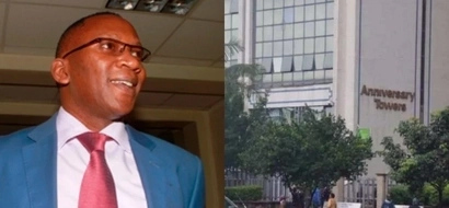 Drama as presidential aspirant is caught jumping from sixth floor after being denied CLEARANCE
