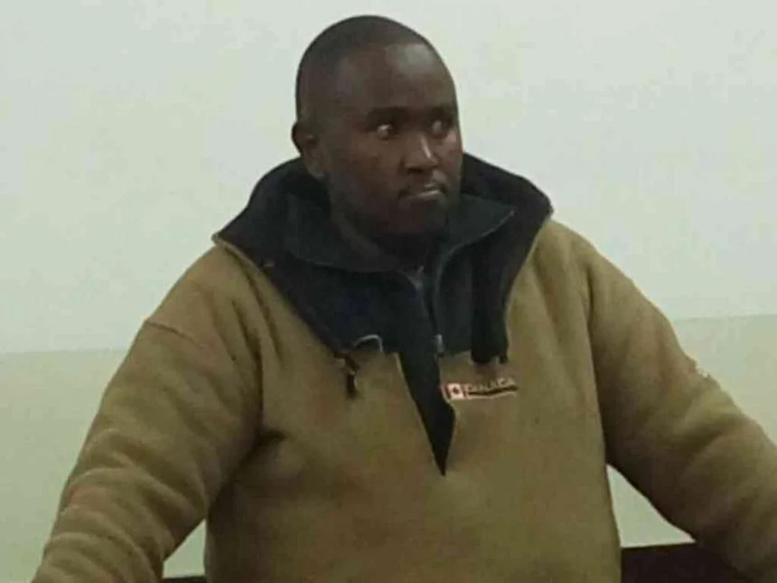 Police officer who stripped at Lang'ata station charged in court