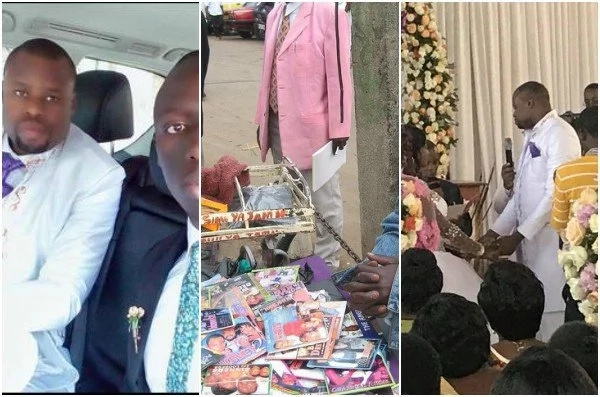 Man who sells CDs in Kenya gets married in an unbelievably lavish wedding