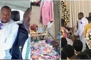 Amazing! Kenyan man who sells CDs in Nairobi gets married in an unbelievably lavish wedding