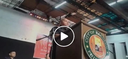 VIDEO: Watch 'Bato' tell drug users to 'kill drug lords' and 'burn their houses'