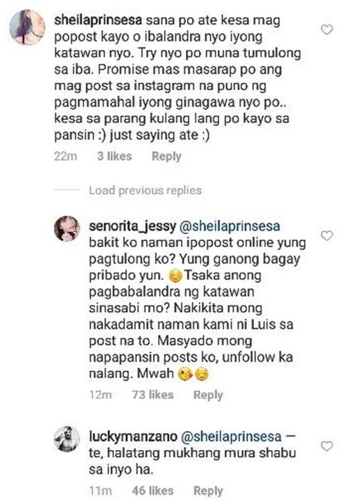 """May pinapatamaan ba siya? Jessy Mendiola claps back at netizen for calling her """"kulang sa pansin"""""""