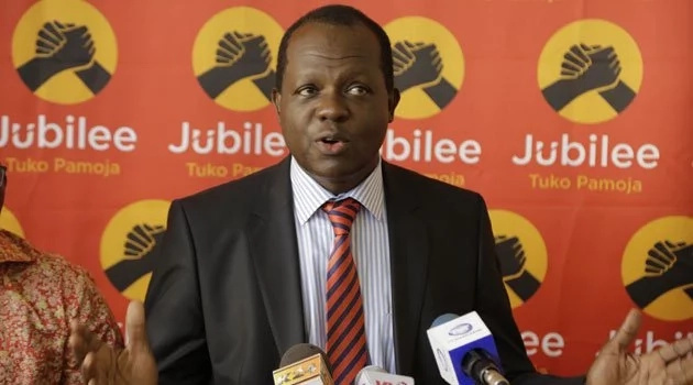 Kenya's judiciary is an extension of NASA - Jubilee secretary general