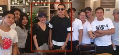 Nagkabalikan na ba? John Lloyd Cruz and Angelica Panganiban spotted together in Makati resto