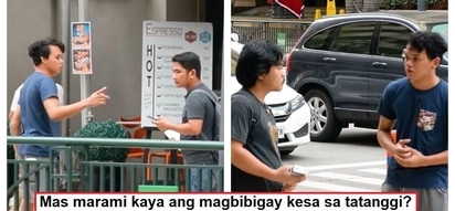 Kung ikaw ba ang nilapitan, bibigyan mo? A man who lost his wallet asks strangers for money in social experiment