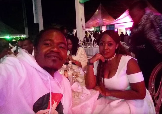 Musician Jua Kali's wife reveals why they have never had a church wedding and you'll laugh at it