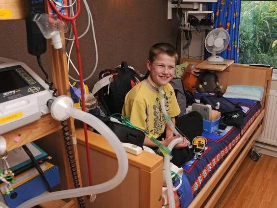 This boy could die if he falls asleep but his surprising activity and optimism really inspires