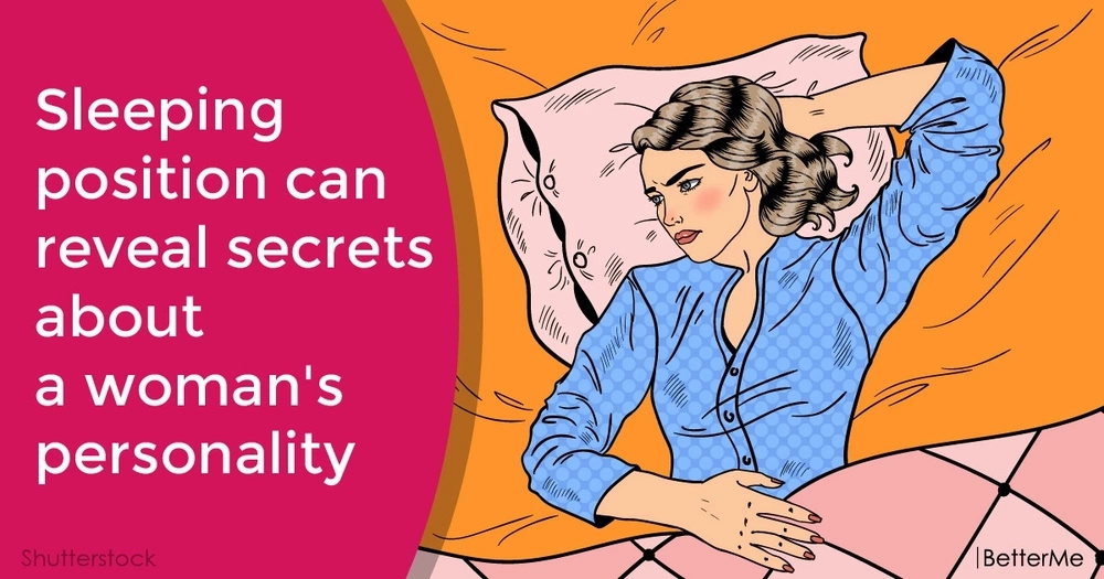 Sleeping position can reveal secrets about a woman's personality
