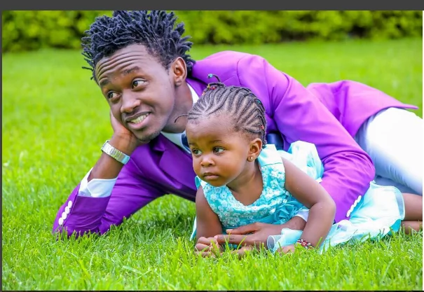 Image result for bahati and his daughter