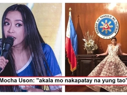 "Mocha Uson reacts to Isabelle Duterte's controversial pre-debut photo shoot in Malacañang: ""Wag na tayong maglokohan"""