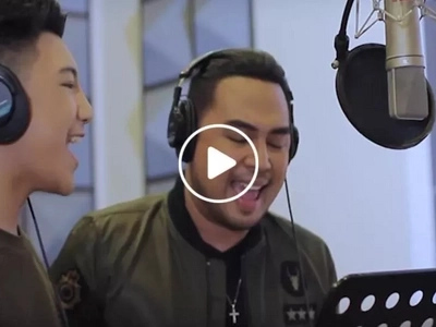 Darren Espanto joins Jed Madela in an epic song cover....what they did together was magical!