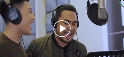 Darren Espanto joins Jed Madela in an epic song cover...what they did together was magical!