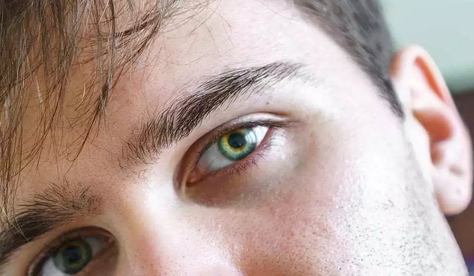 Eyes are the first thing women notice about a man's body