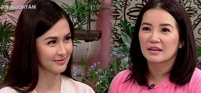 WATCH: Kris is all thumbs up for Duterte